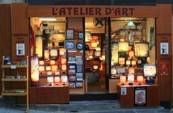 Atelier de peinture sur soie montclus - Magasin de luminaire paris ...